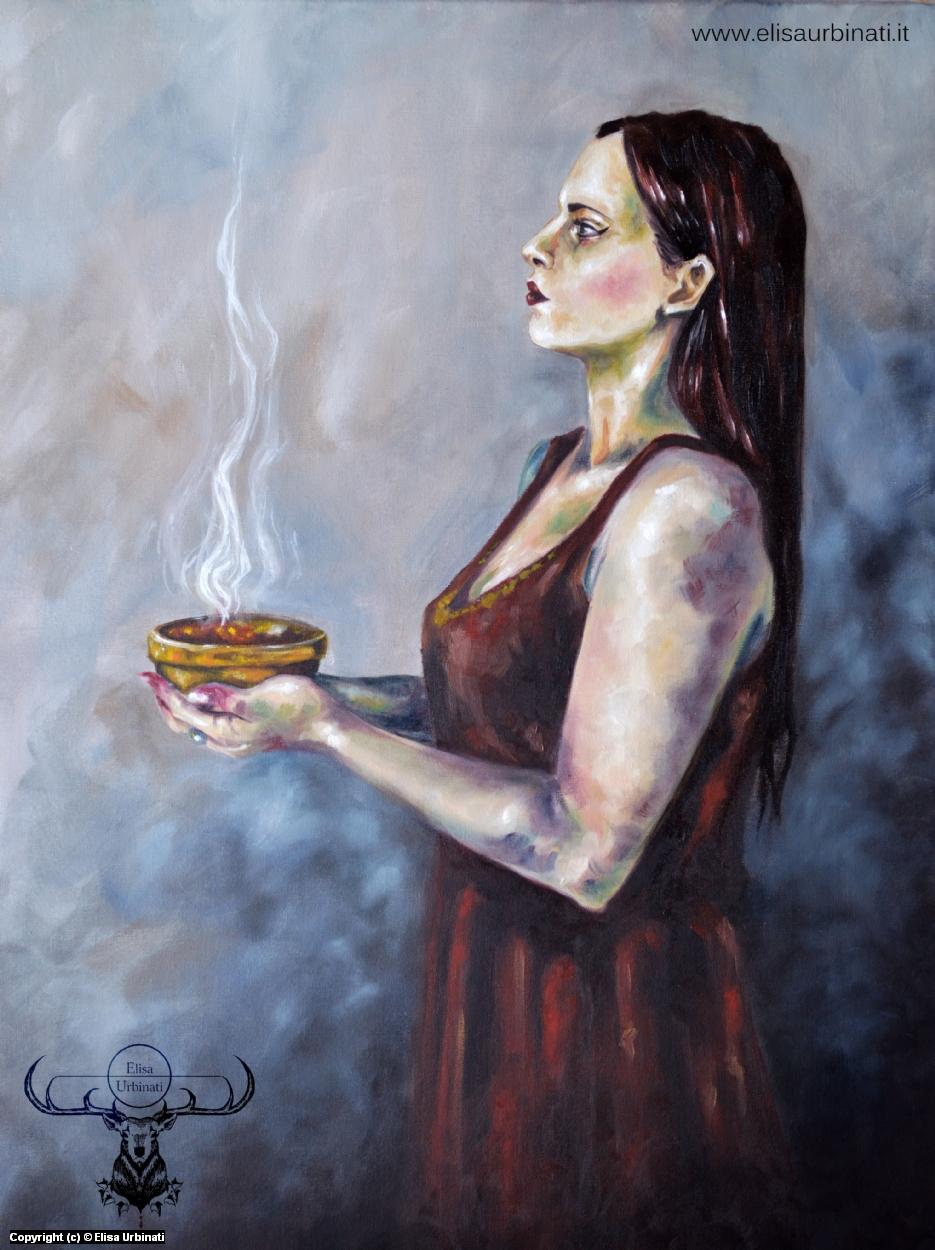 To Mephisto Artwork by Elisa Urbinati
