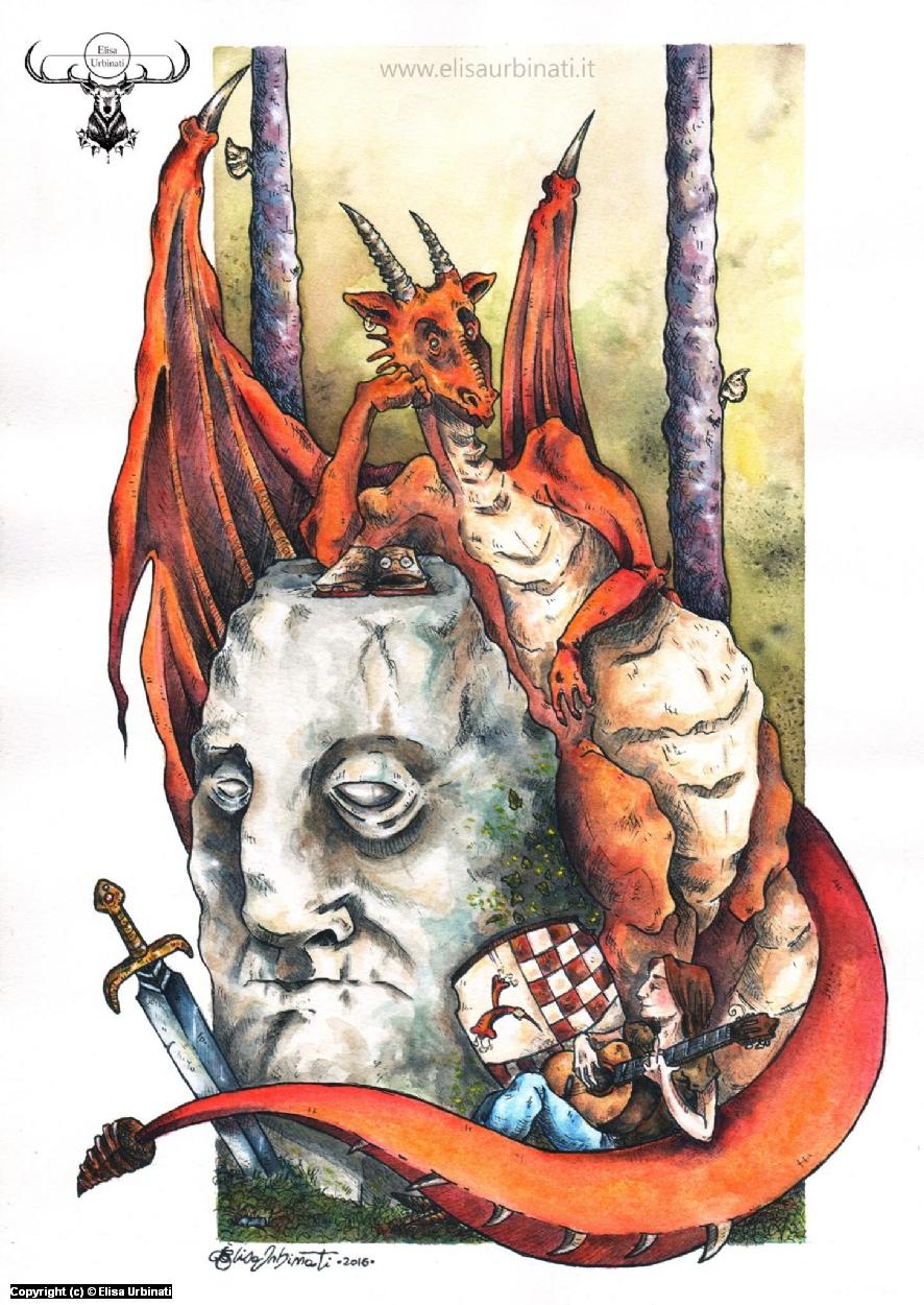 Storytellers Artwork by Elisa Urbinati