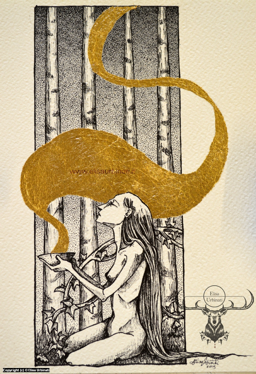 Golden fog Artwork by Elisa Urbinati