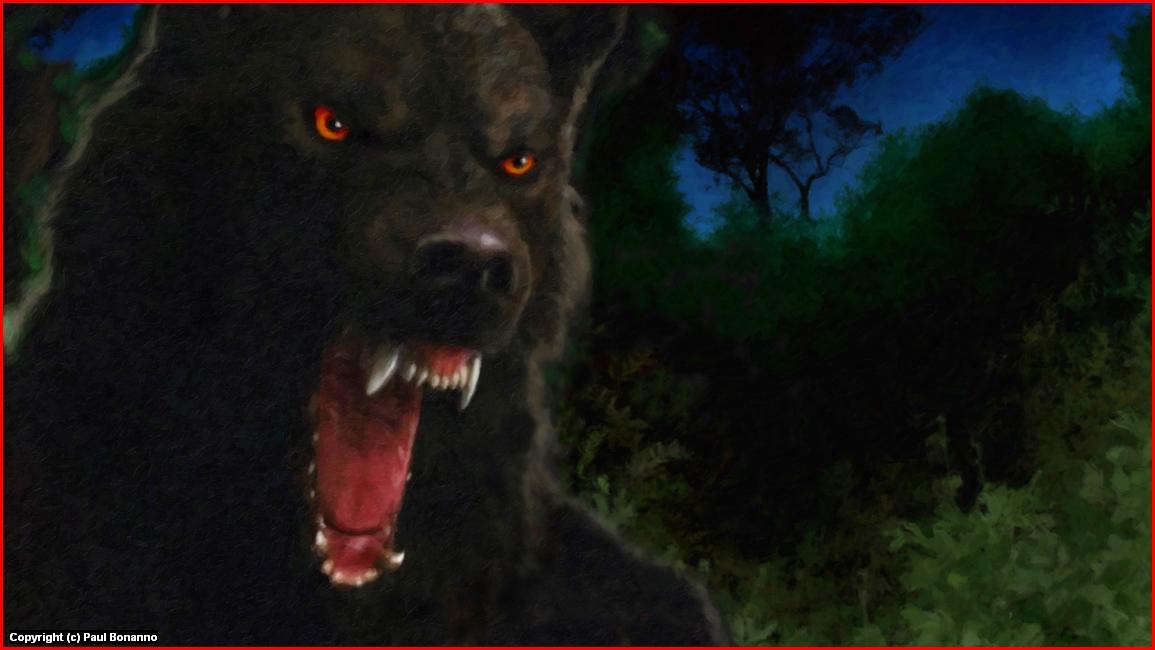Werewolf Artwork by Paul Bonanno