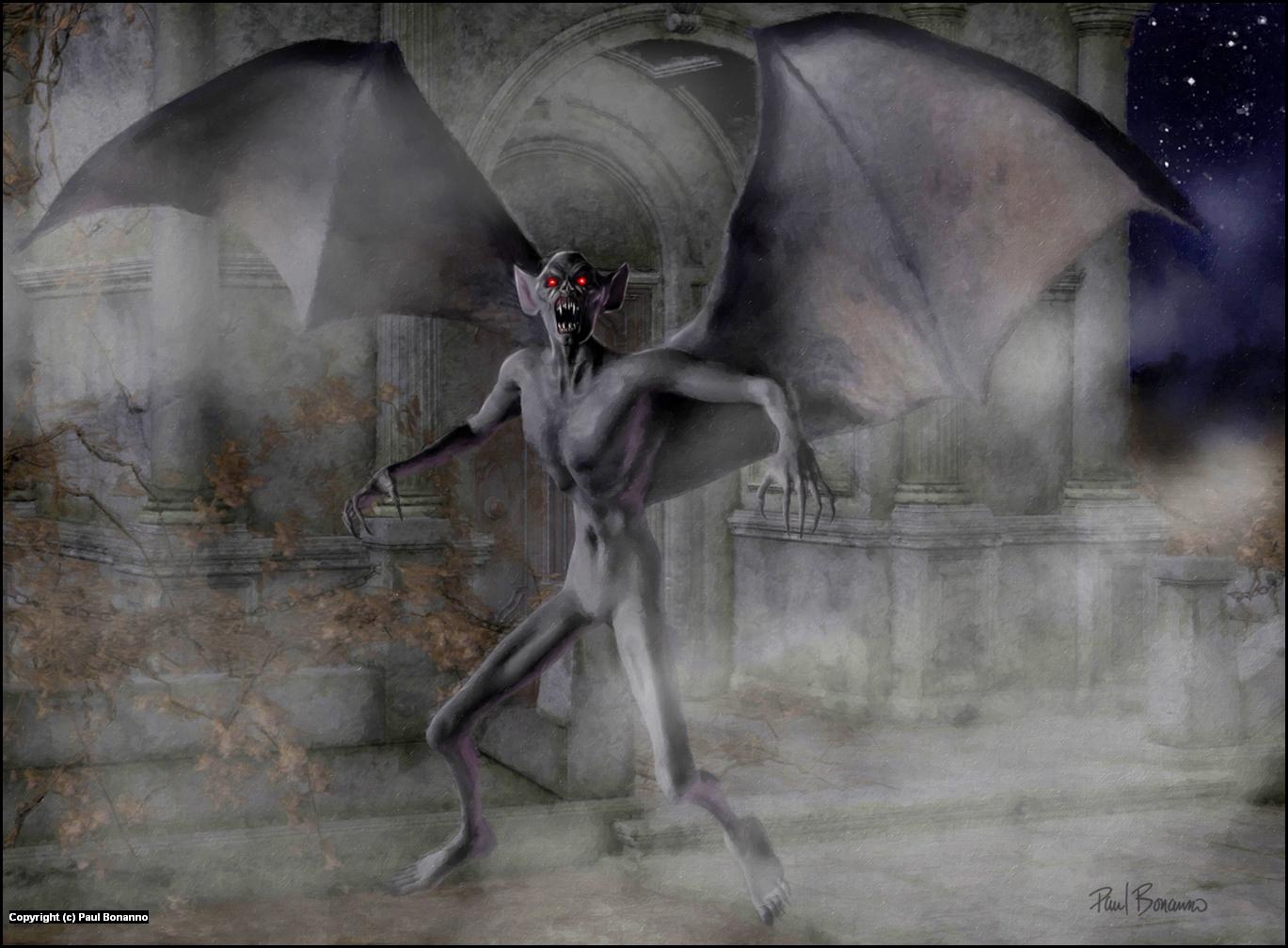Night terror Artwork by Paul Bonanno