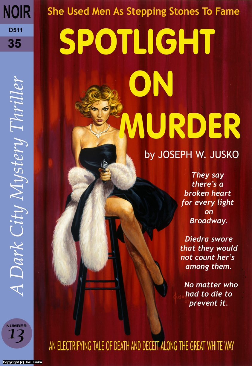 SPOTLIGHT ON MURDER Artwork by Joe Jusko