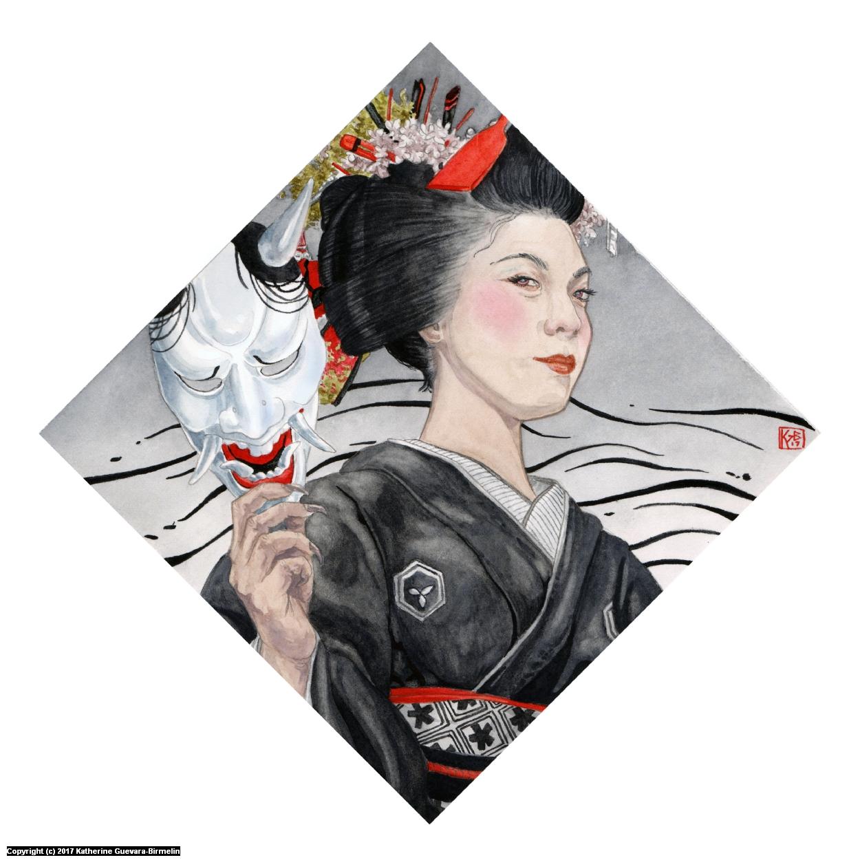 Kijo Artwork by Katherine Guevara-Birmelin