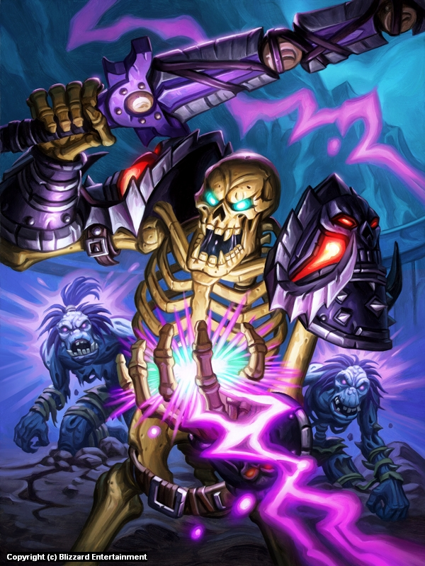 The Skeleton Knight Artwork by Mike Sass