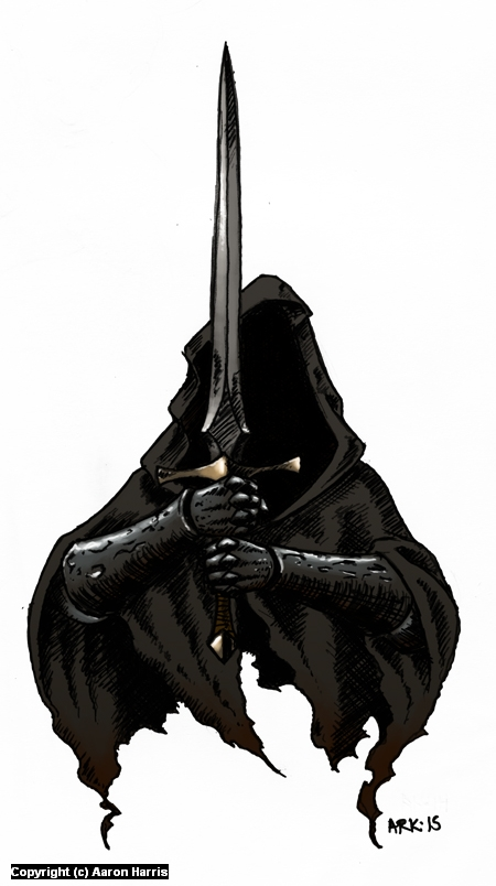 Nazgul Artwork by Aaron Harris