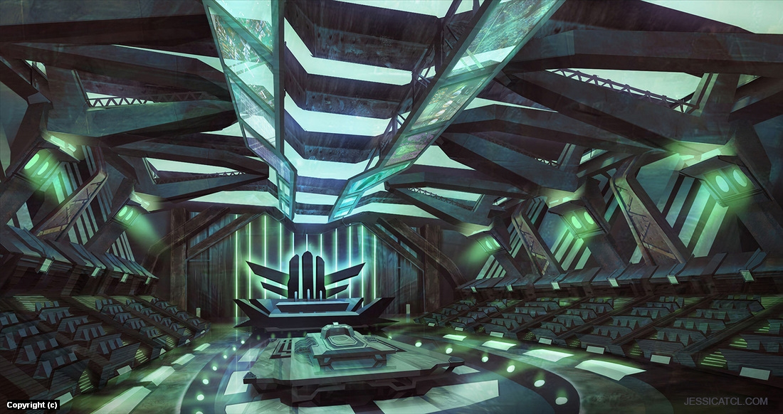Conference Hall Artwork by Jessica Tung Chi Lee