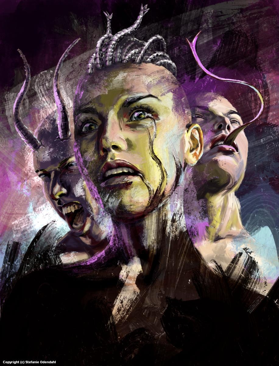 Faces   Change V Artwork by Stefanie Odendahl