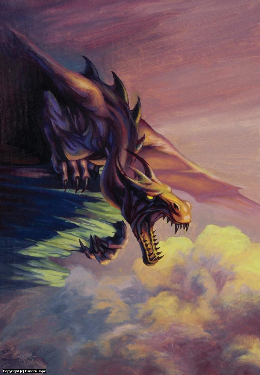 Dragon Artwork by Candra Hope