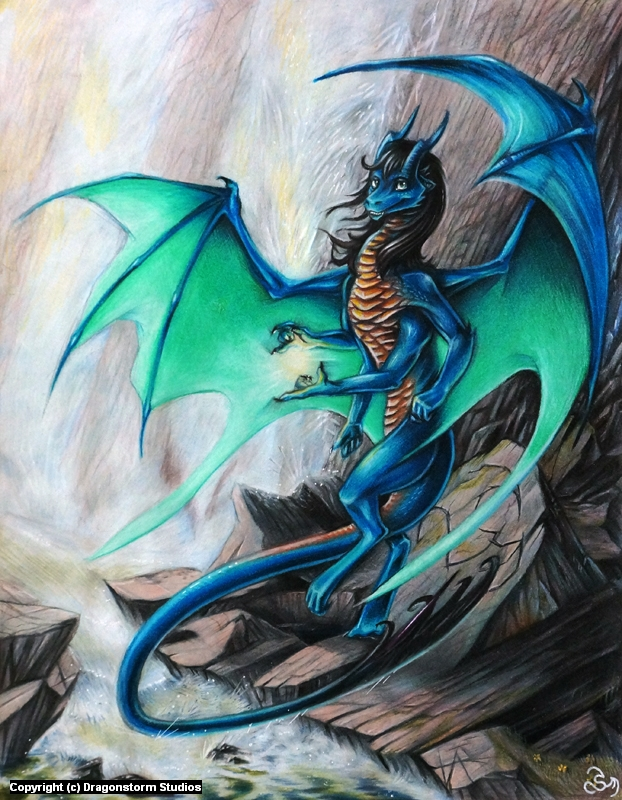 V. Caelensis - Spiderdragon Artwork by Valerie Gershman