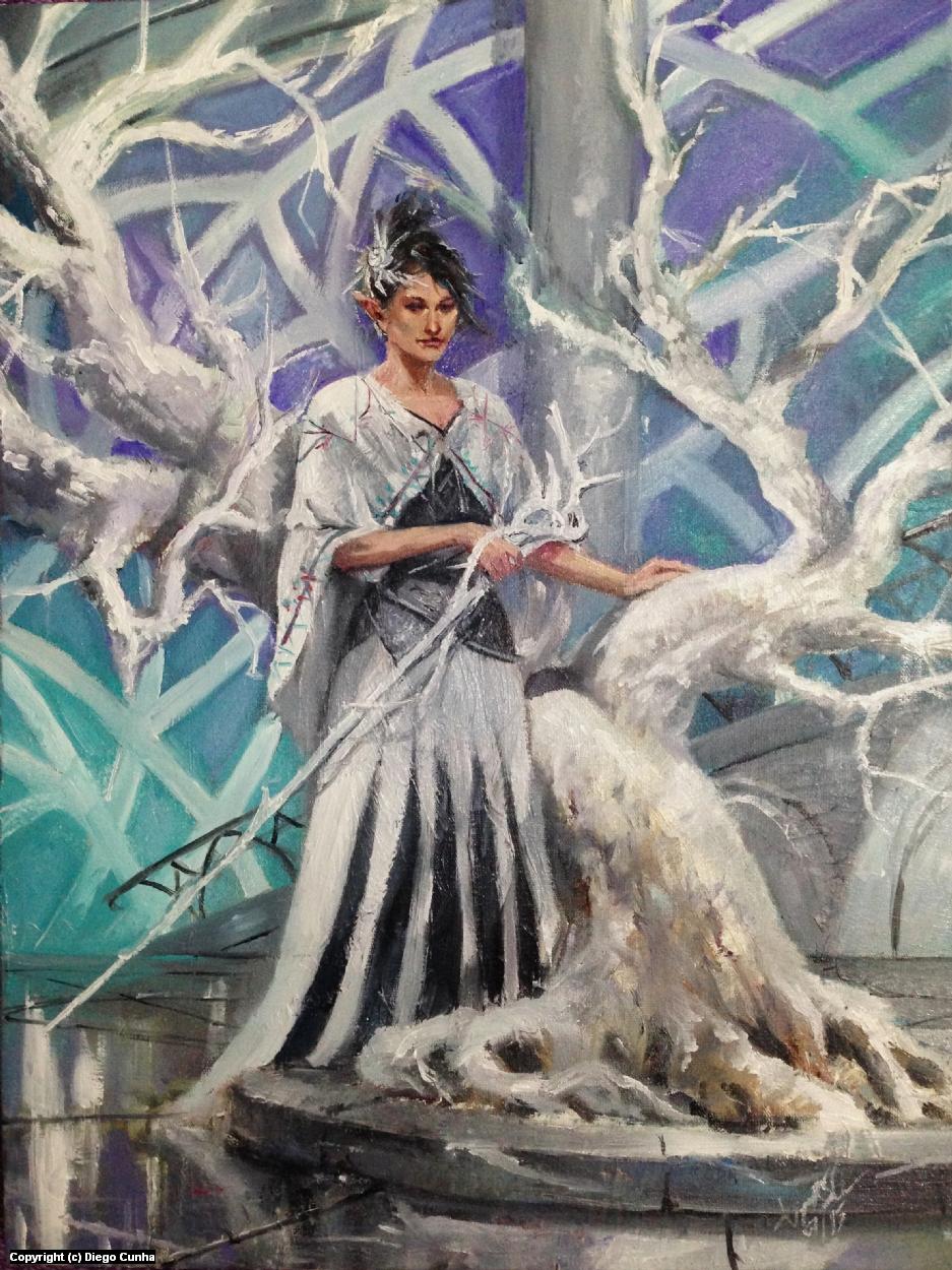 White Tree Artwork by Diego Cunha