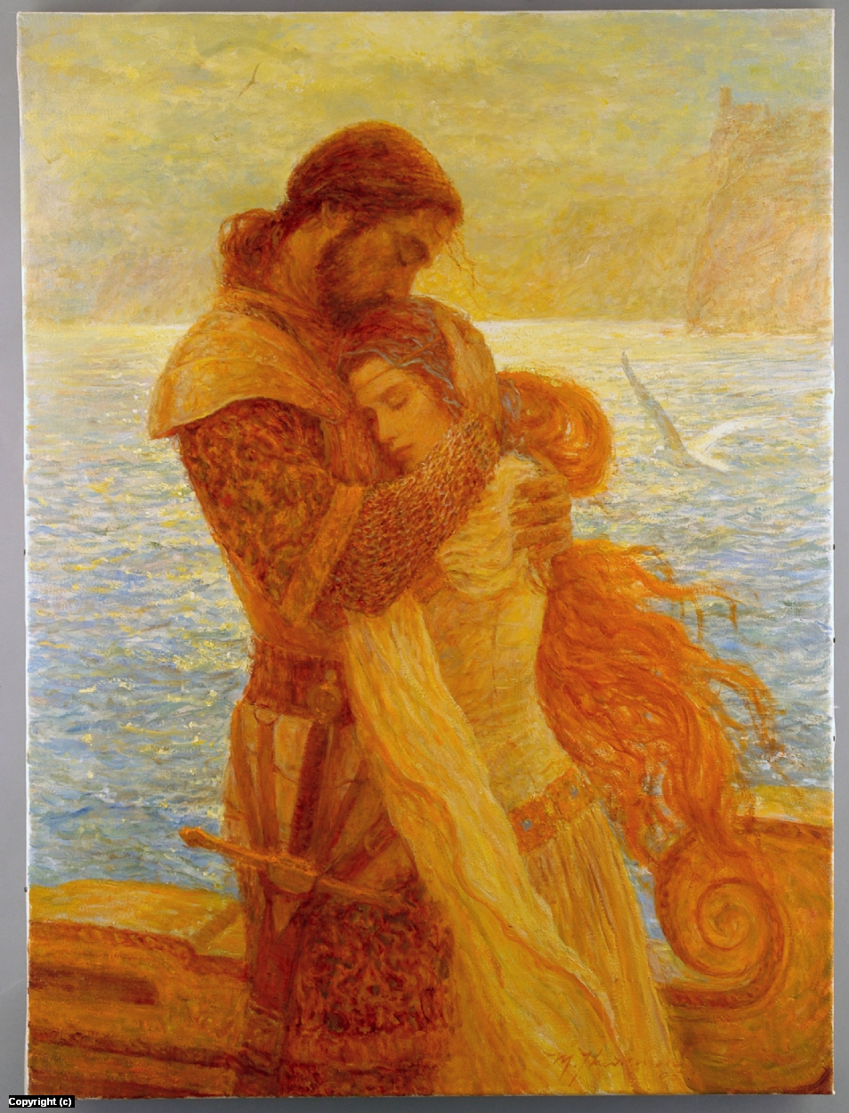Tristan and Isolde  Artwork by marc fishman
