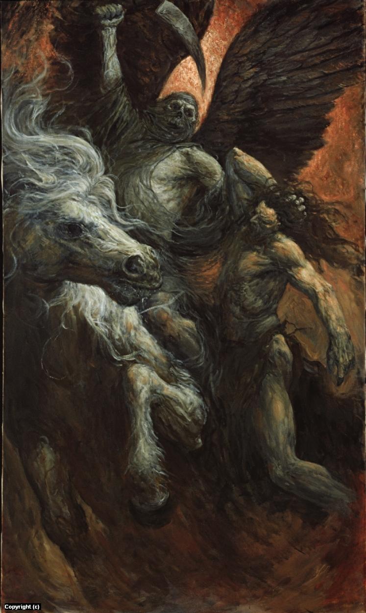 Azriel , Angel of Death  Artwork by marc fishman
