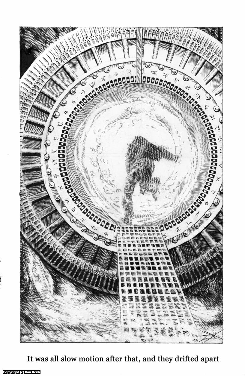 The Stargate Artwork by Dan Henk