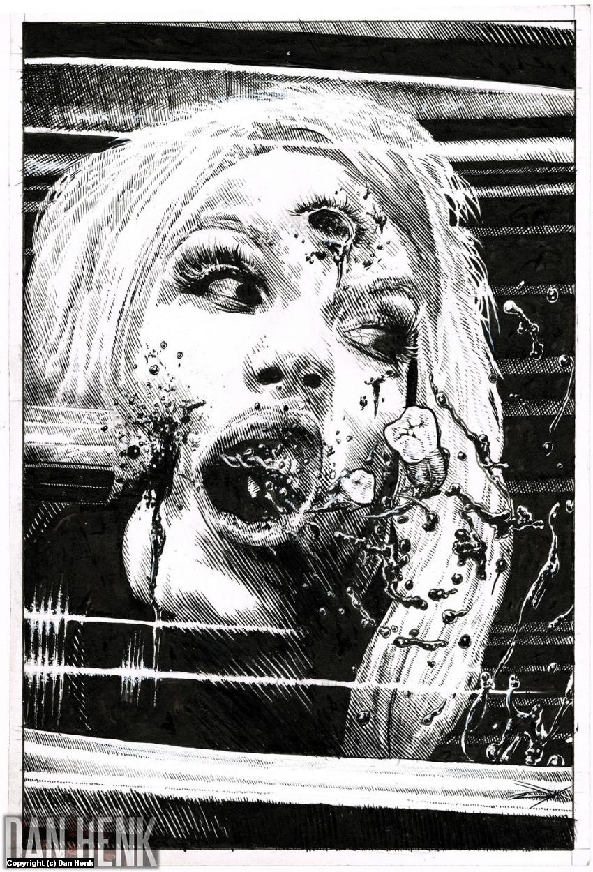 Splatterpunk Five Artwork by Dan Henk