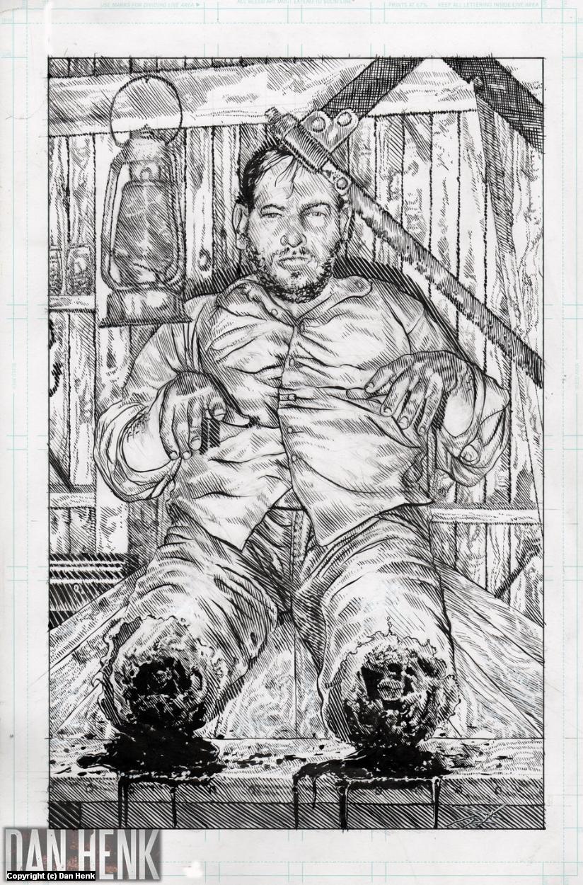 Splatterpunk Seven Artwork by Dan Henk
