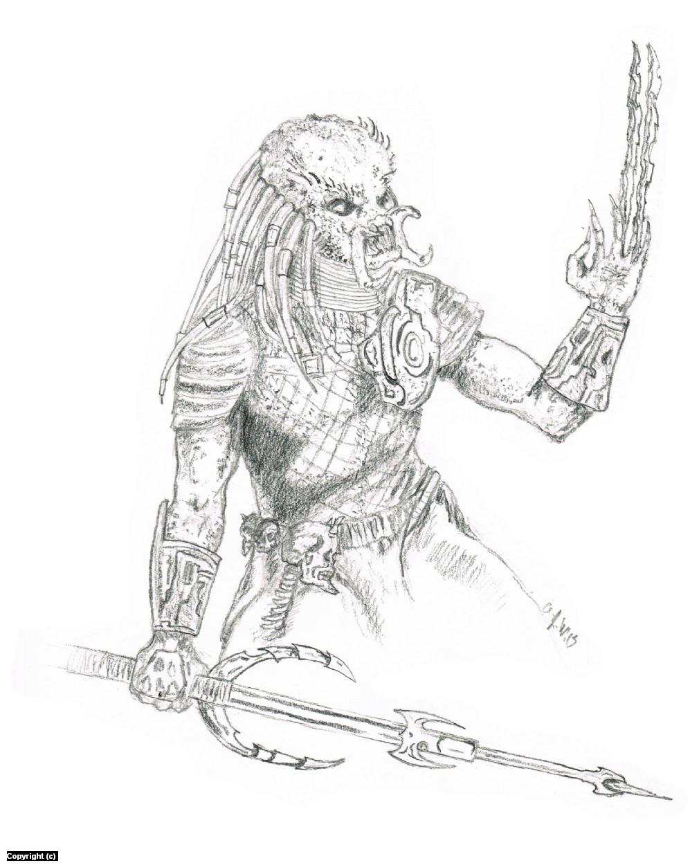 Predator Artwork by A. Jaye Williams