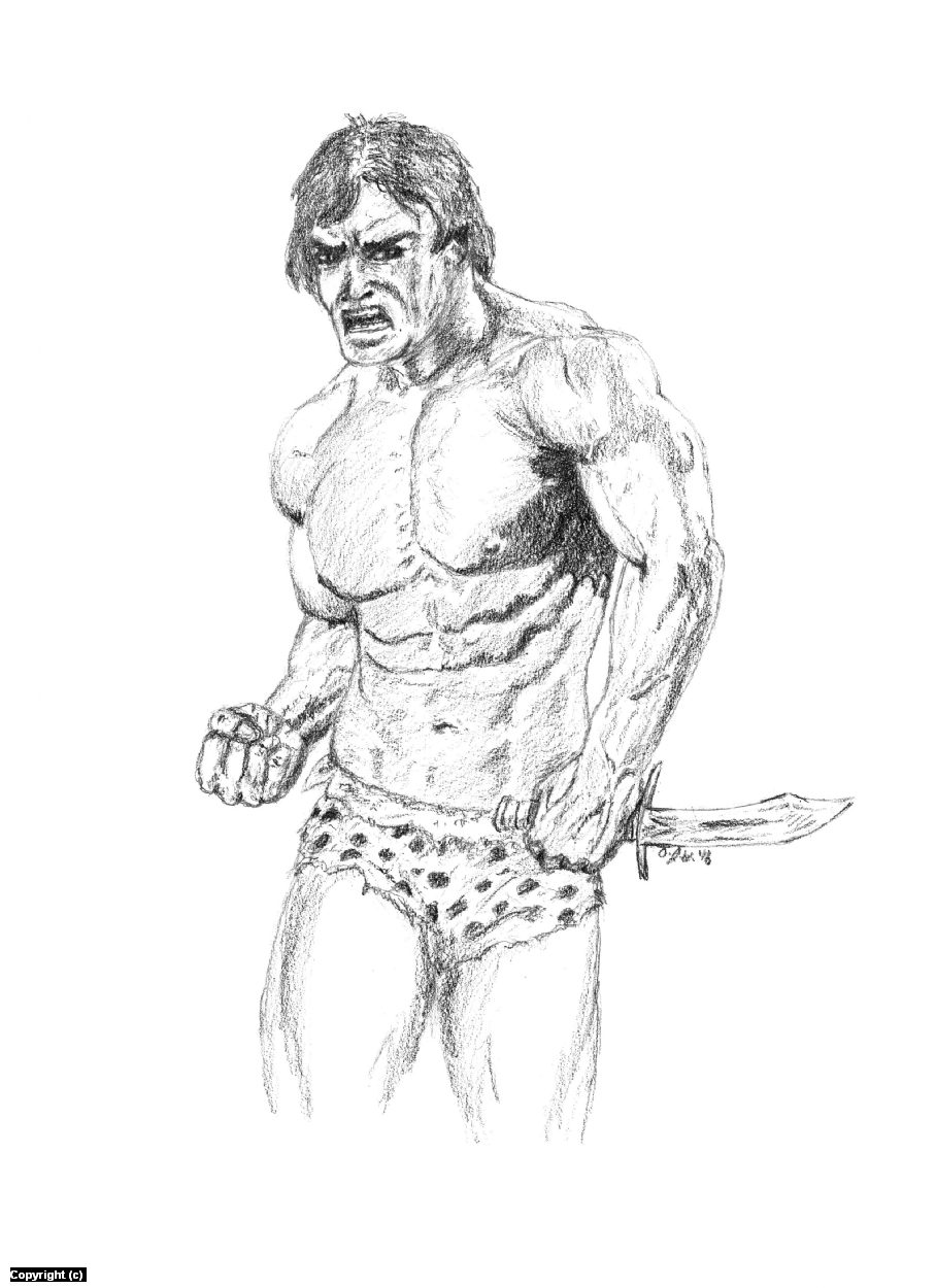 Tarzan of the Apes Artwork by A. Jaye Williams