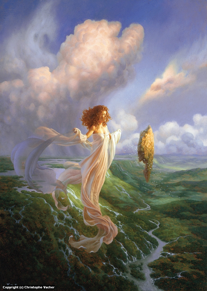 Mistress Of The Winds Artwork by Christophe Vacher