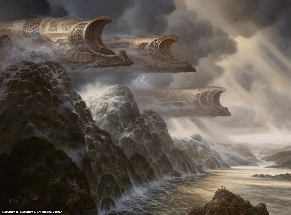 Northern Shores Artwork by Christophe Vacher