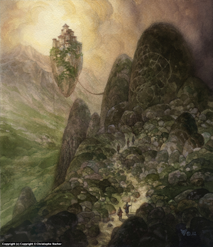 Pilgrimage to Khoon Lam Artwork by Christophe Vacher