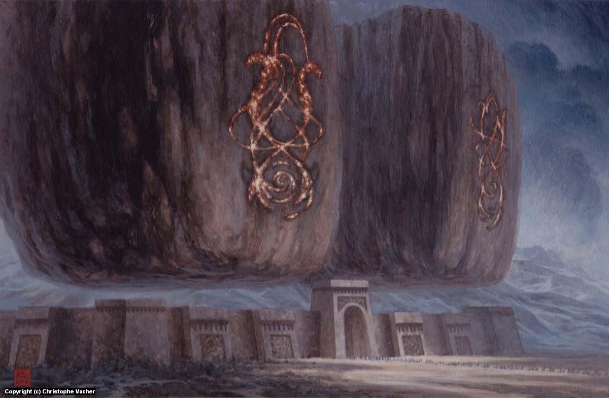 Sentinels Artwork by Christophe Vacher