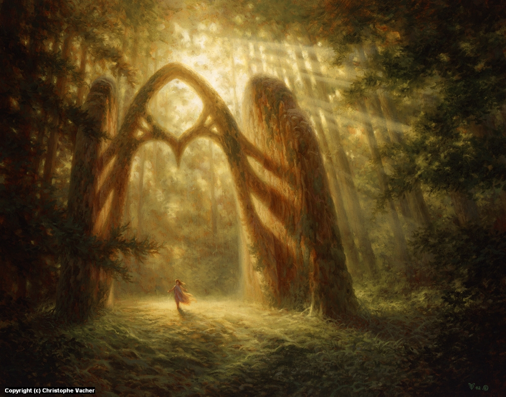 The Gate Artwork by Christophe Vacher