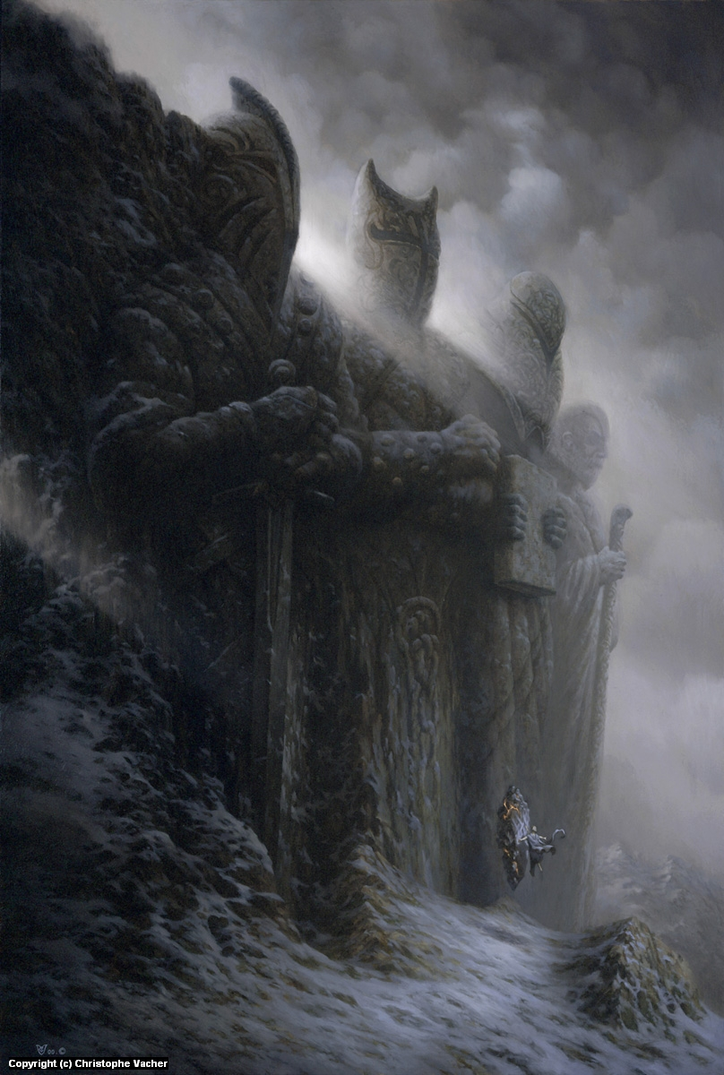 The Giants Artwork by Christophe Vacher