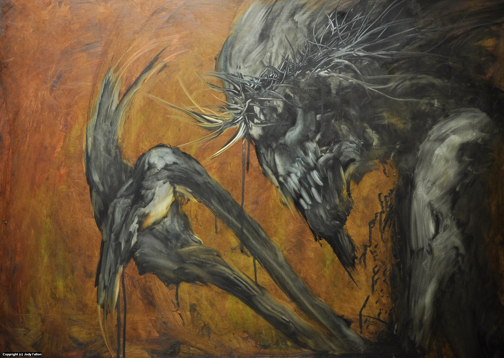 Who Will Say a Prayer Artwork by Jody Fallon