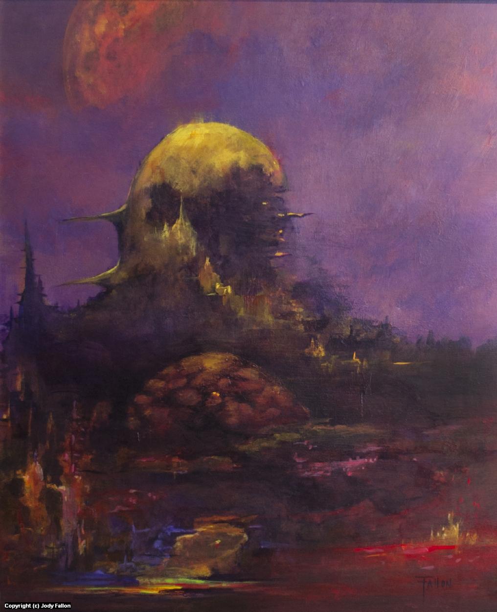 Deconstructing the Watcher Artwork by Jody Fallon