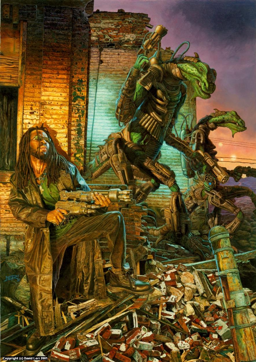 The Exterminators Artwork by Dave Leri