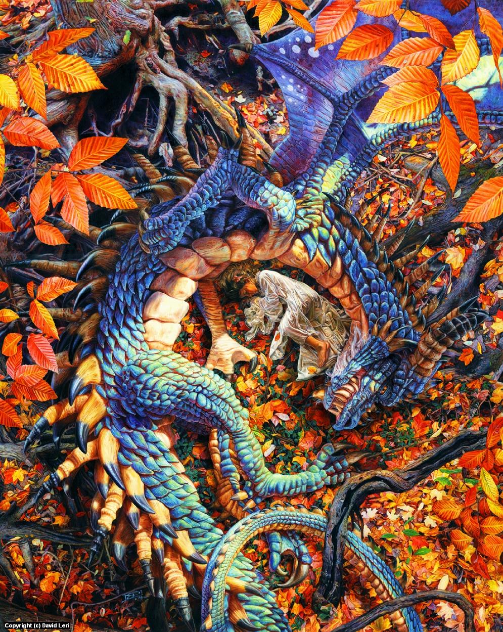 Abby's Dragon Artwork by Dave Leri