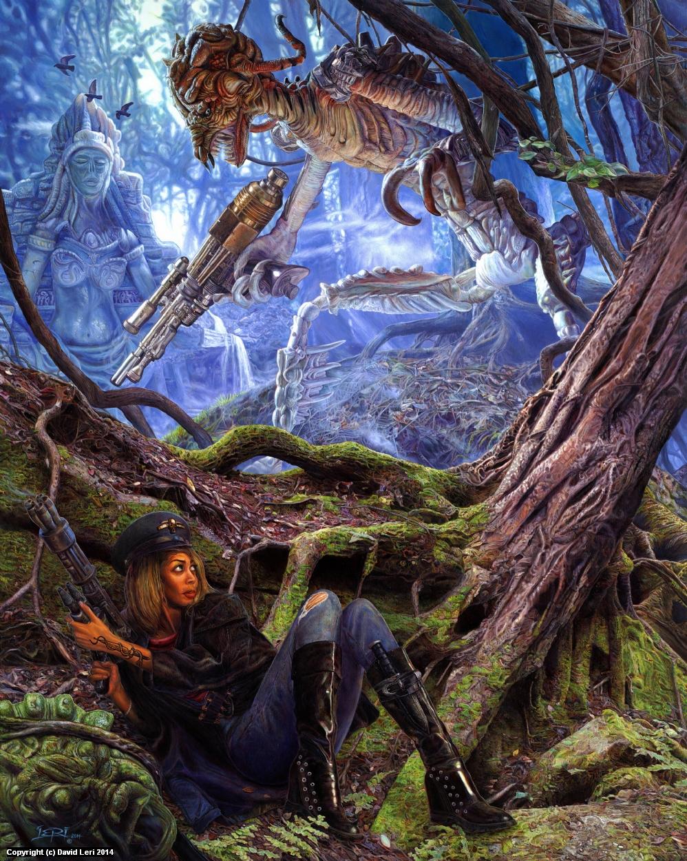 The Exterminators Redux Artwork by Dave Leri
