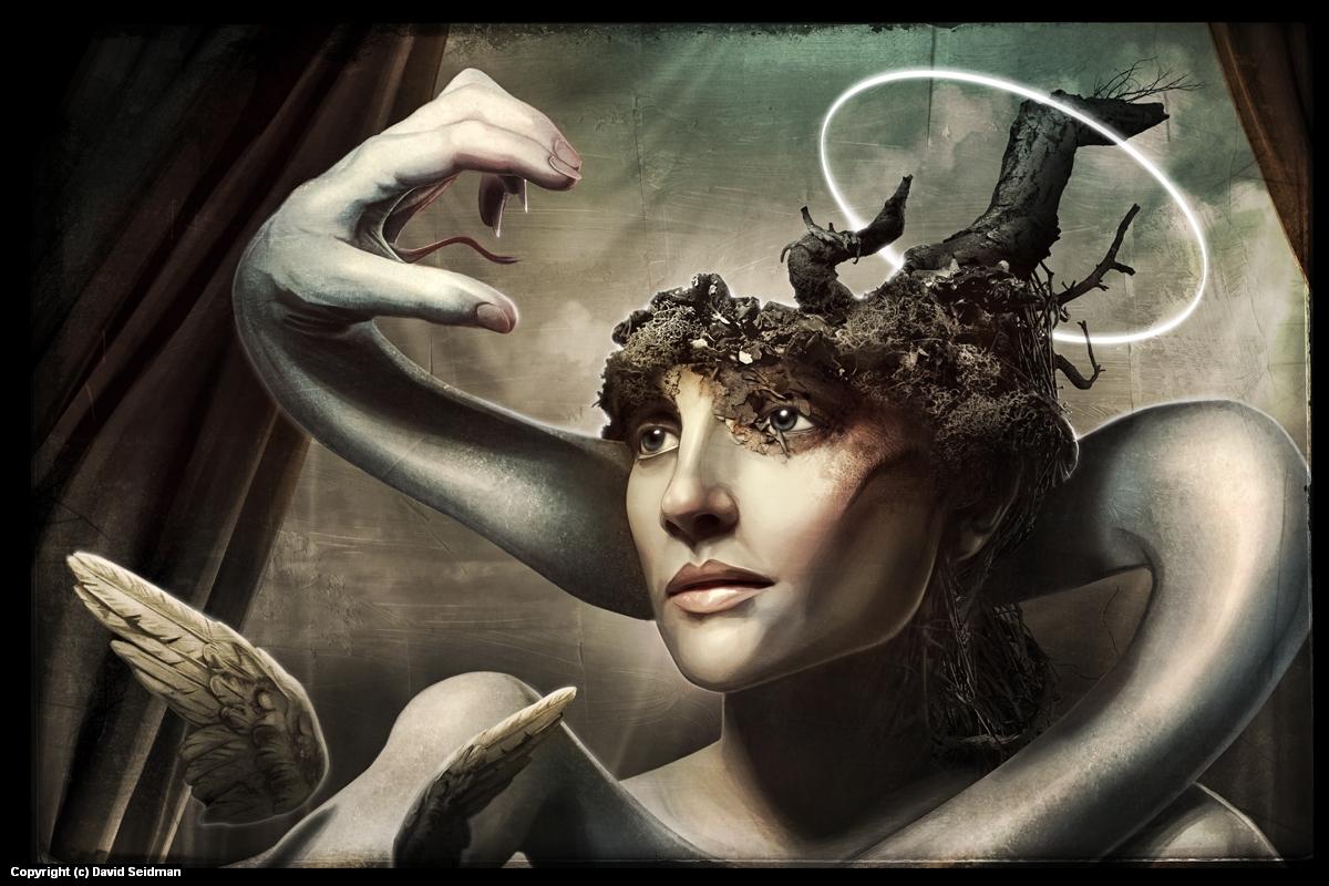 Watchers of Eden Artwork by David Seidman