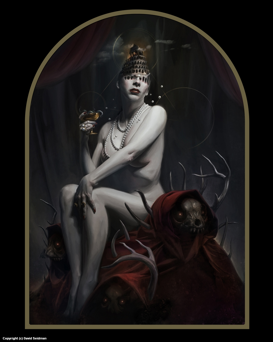 Whore of Babylon Artwork by David Seidman