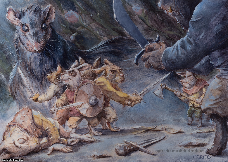 Ambush Artwork by Chuck Grieb