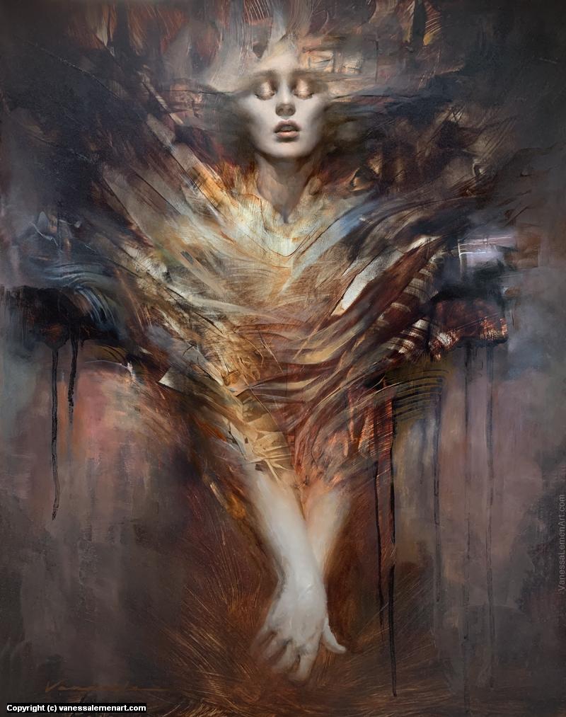 Return To The Vortex Artwork by Vanessa Lemen