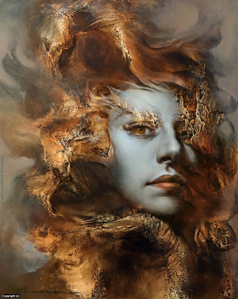 The Dragon Whisperer Artwork by Vanessa Lemen