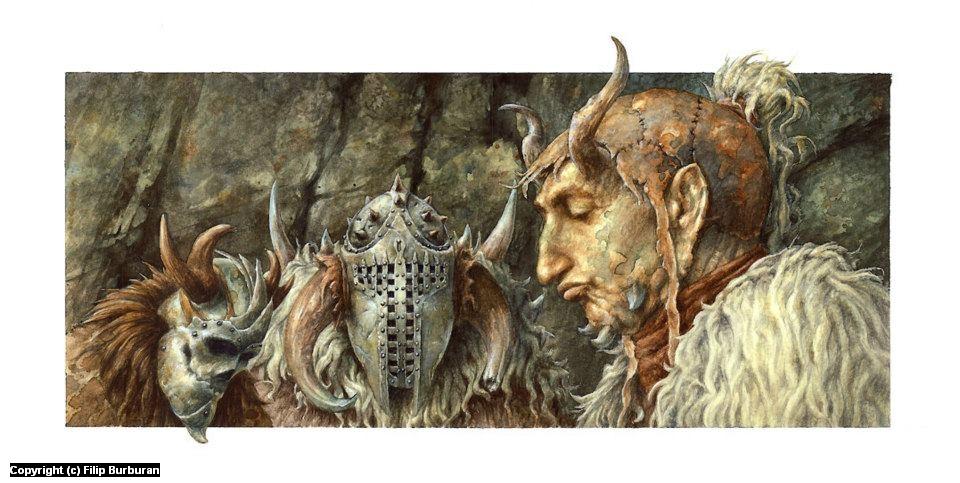 Frost Giants Artwork by Filip Burburan