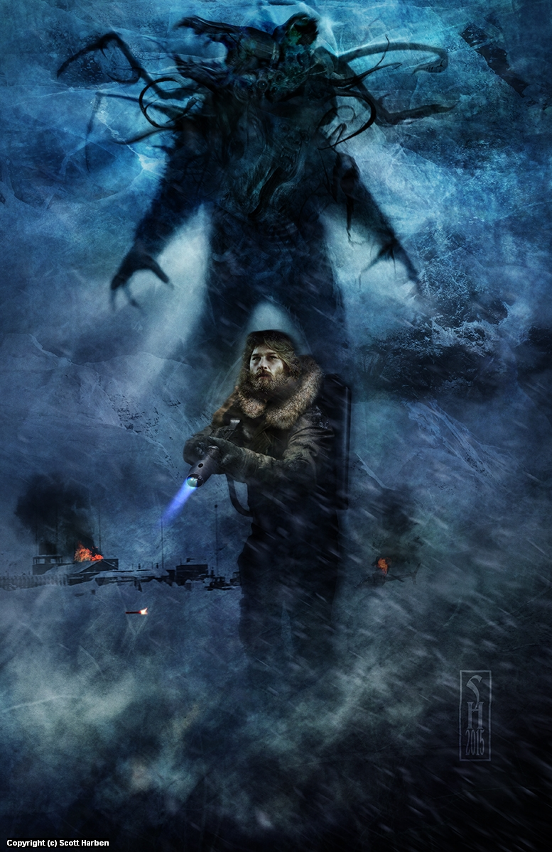 The Thing Artwork by Scott Harben