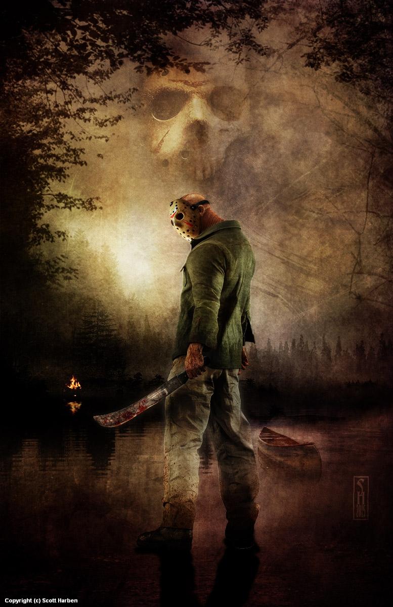 Jason Artwork by Scott Harben
