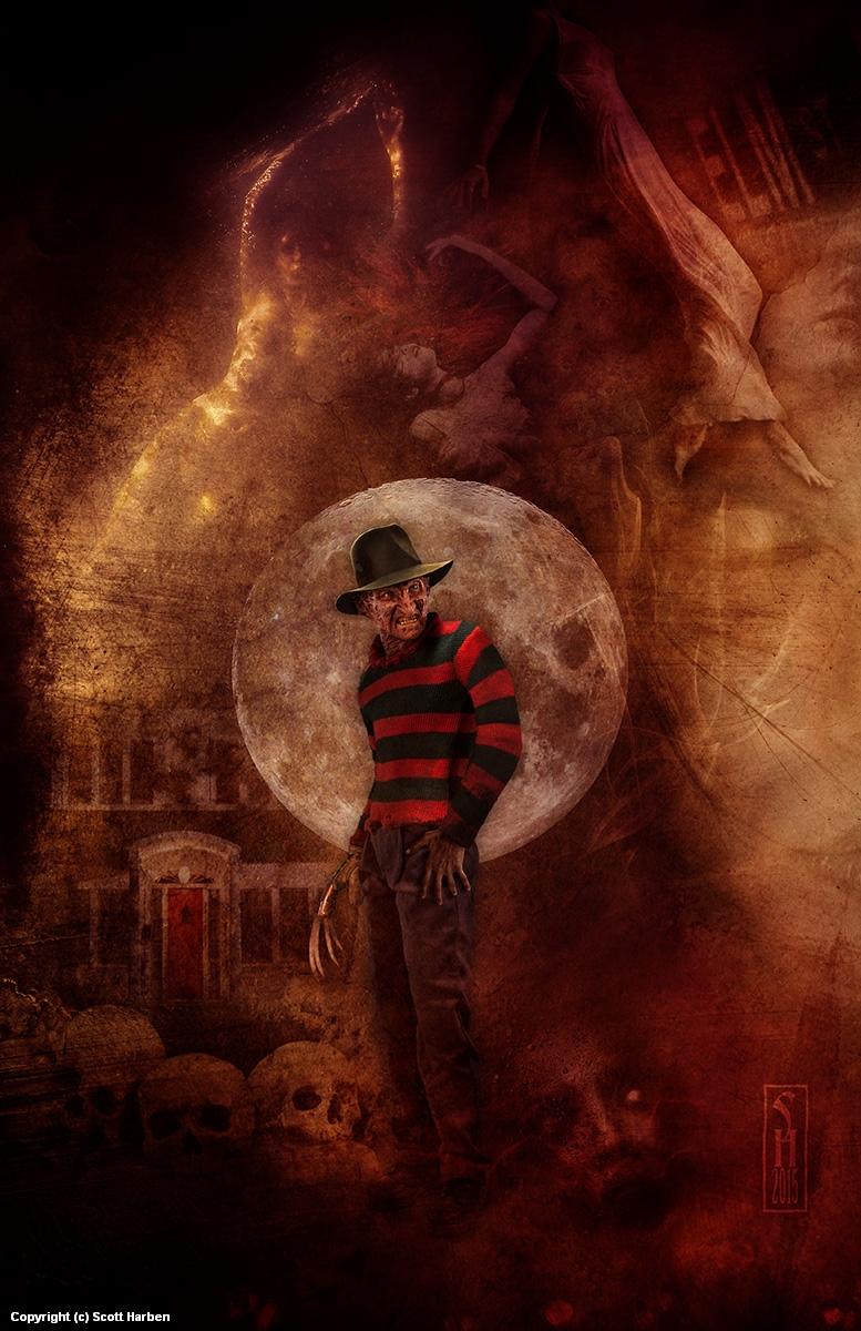 Freddy Artwork by Scott Harben