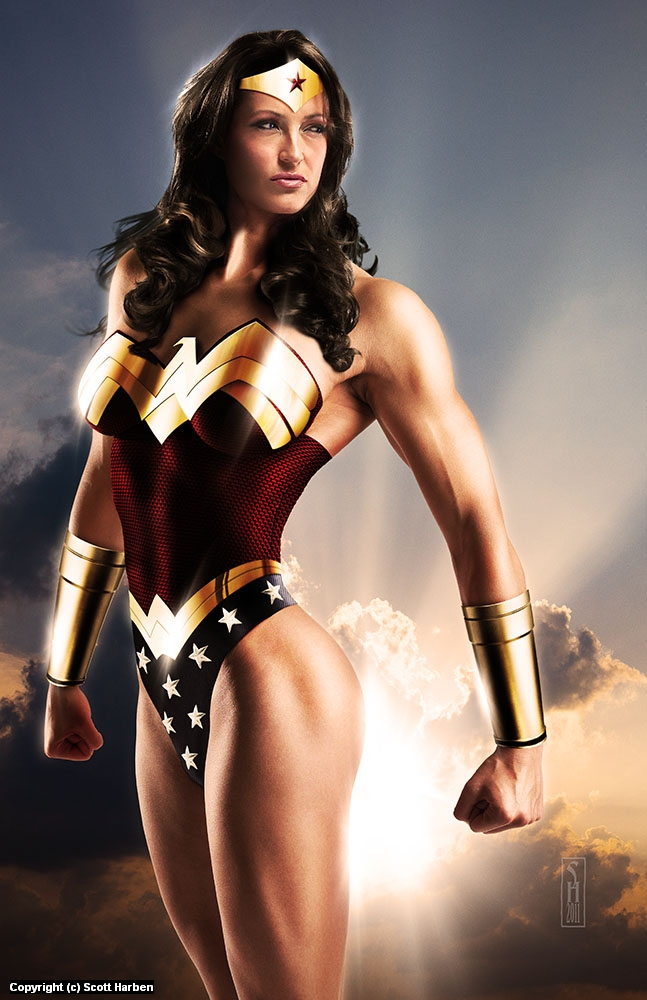 Wonder Woman Artwork by Scott Harben