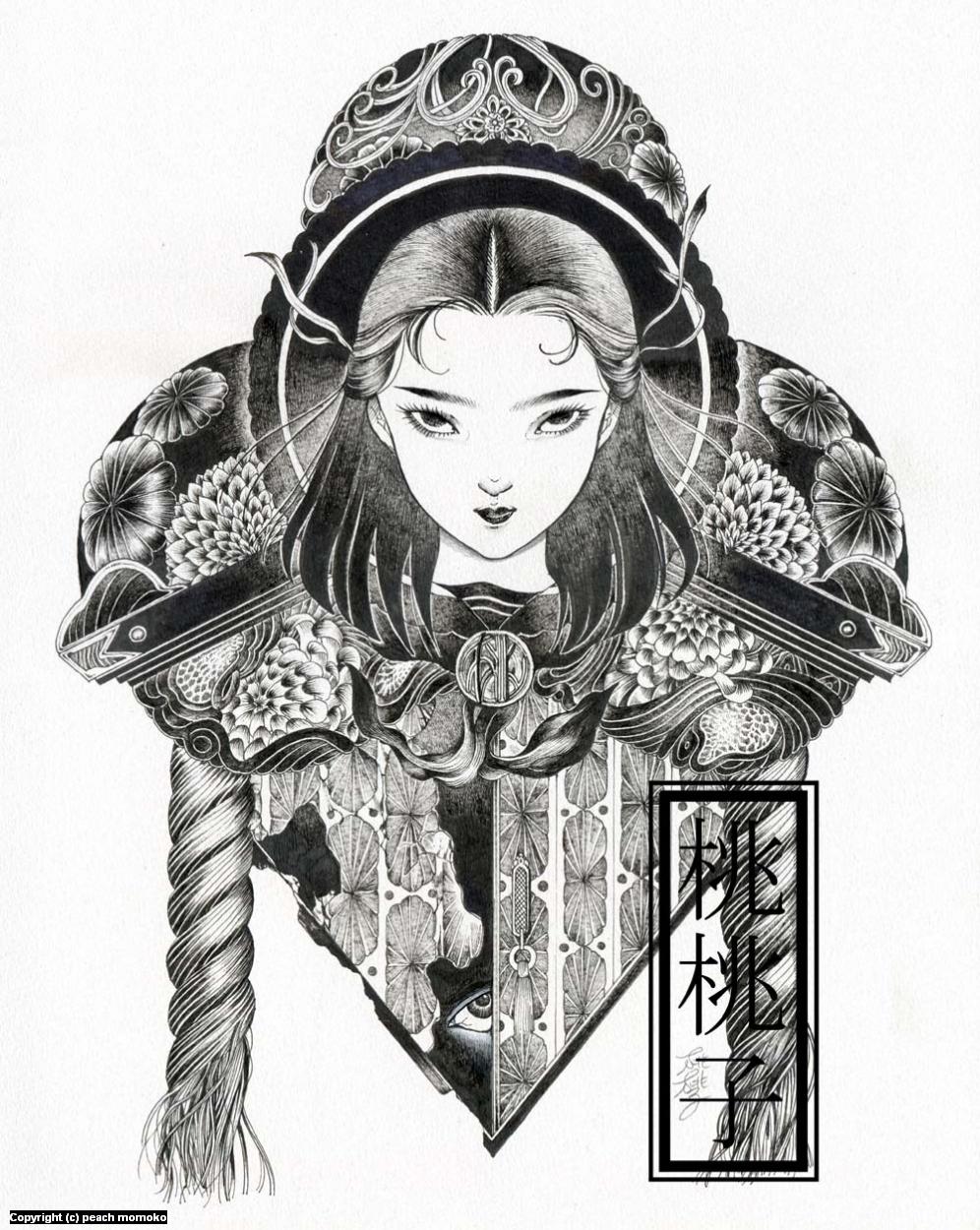Hakai & Saisei: Nozoki Artwork by MoMoKo Peach