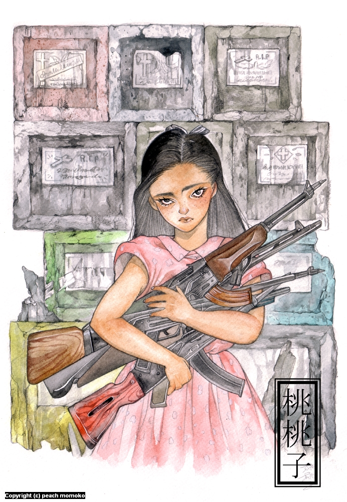 Cemetary Slum Artwork by MoMoKo Peach