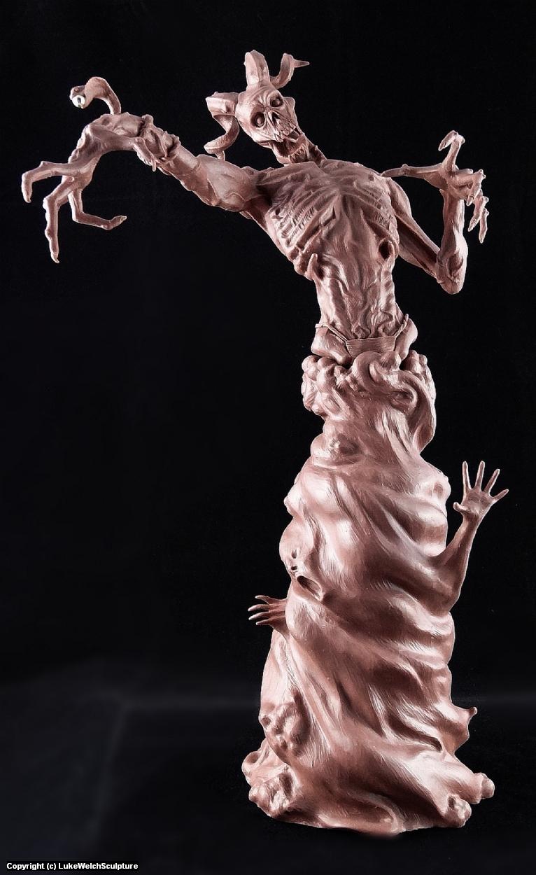 Demon Sorcerer Artwork by Luke Welch