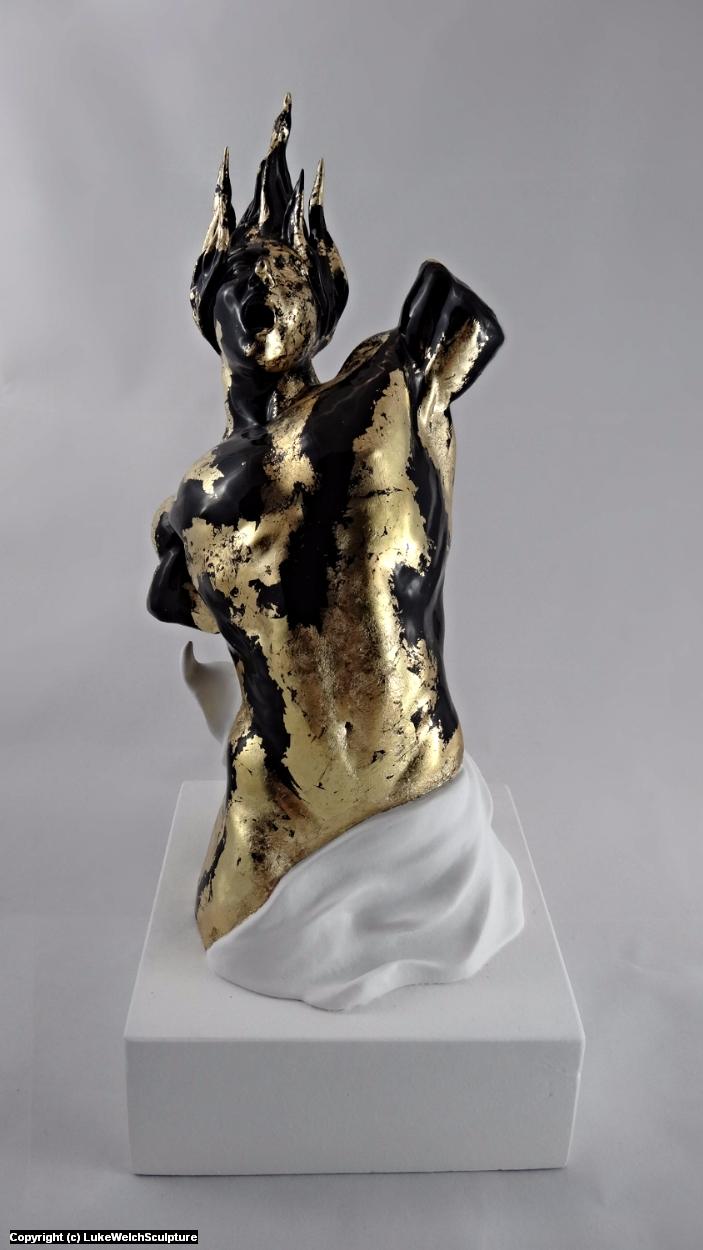 Cry of the Fallen Artwork by Luke Welch