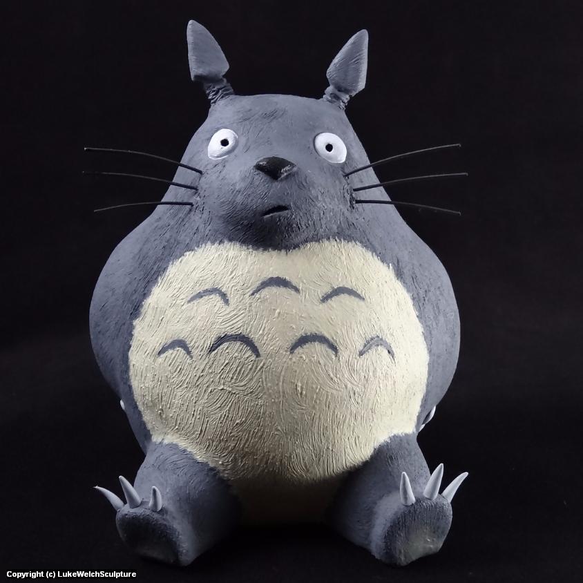 Totoro Artwork by Luke Welch