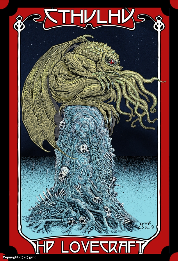 cthulhu Artwork by Gary Mccluskey