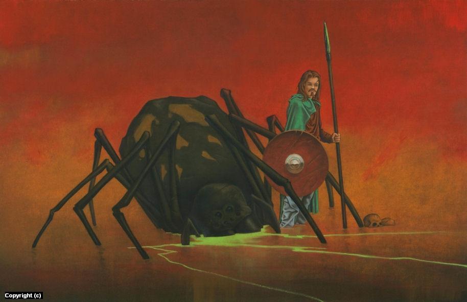 Spider Man Artwork by Stacy Drum