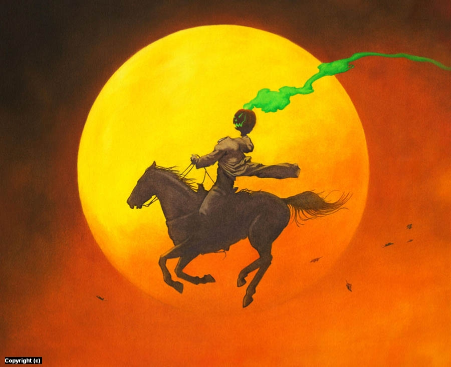 Headless Horseman Artwork by Stacy Drum